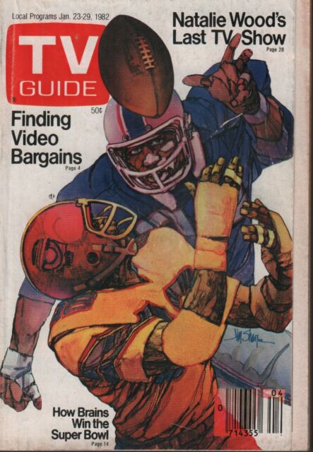TV Guide Digest January 23-29 1982 Natalie Wood Jim Sharpe 012219AME