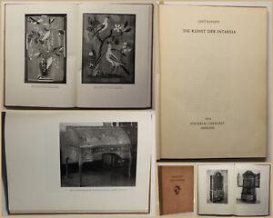 Kossatz-Die-Kunst-der-Intarsia-1954-Technik-Handwerk-Geschichte-Dekoration-sf