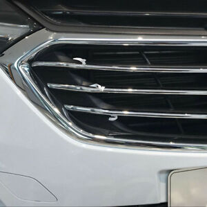 For-Chevrolet-Holden-Equinox-2018-2020-Chrome-Front-Grille-Grills-Cover-trim