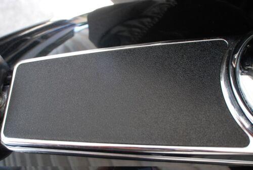 "Textured Dash Insert for 89-07 Harley Road Glide Touring Models /""Satin Black/"""