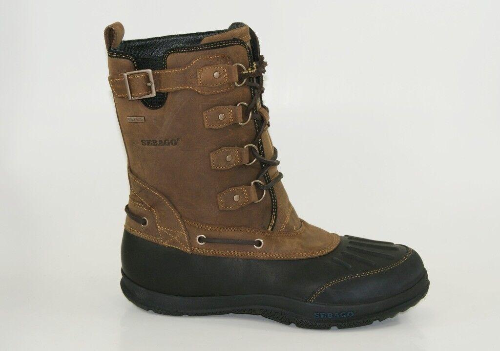 Sebago Wells Riverbank Waterproof Boots Herren Winter Schuhe NEU B17203