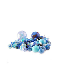 All 1 Colour Blue - Toypost Hand Picked Glass Marbles