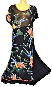 TS-dress-TAKING-SHAPE-plus-sz-M-20-039-Tropicana-039-sheer-light-sexy-NWT-rrp-130