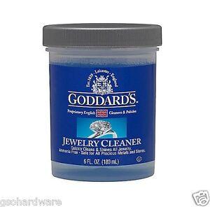 goddard 39 s jewelry cleaner 6oz 707885 no ammonia new ebay