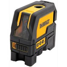 Dewalt DW0822 Self Leveling Cross Line and Plumb Spots Laser Level DW0822