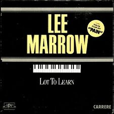 LEE MARROW - LOT TO LEARN - RARE FRENCH CARDBOARD SLEEVE CD MAXI
