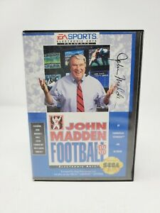 John Madden Football 93 (Sega Genesis 1993) Complete CIB Tested