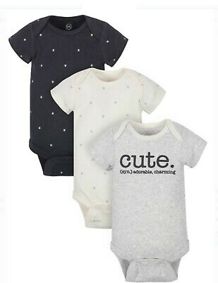 Gerber Wonder Nation Baby Girl Bodysuit ~ 6 Pack ~ Size 6-9 Month ~