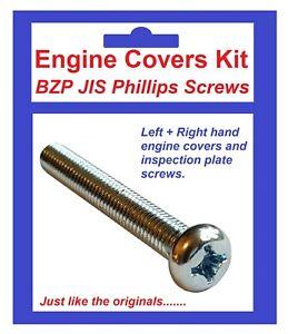 BZP-Philips-Engine-Covers-Kit-Honda-CB350-039-68-039-73