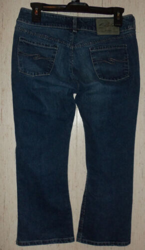 Distressed 28 Silver Taille Excellent Blue Cropped Womens Jeans qRw0Pt