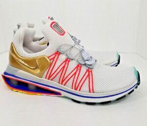 Uomo Nike 2018 Shock Size Gravity AQ8553 400 Size Shock 9.5 Metallic oro Vast   fa24ab