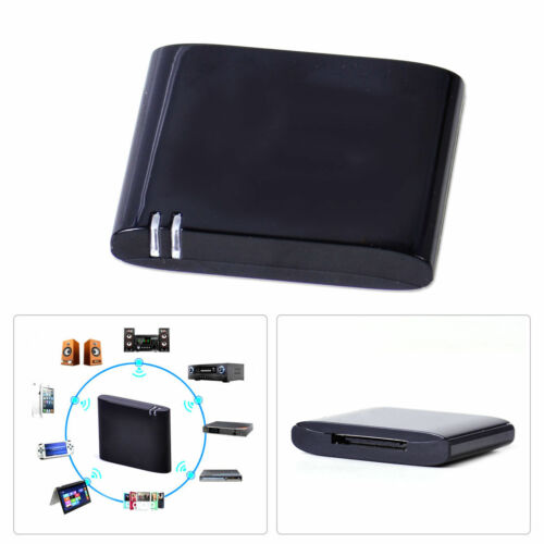 US Wireless Audio Music Receiver Adapter for 30-Pin IPOD Sounddock Dock Speaker