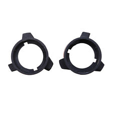Pair H7 Xenon Headlight Bulbs Adapters Holders Retainers Fit For BMW E39-3