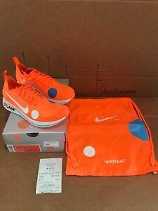 Nike-Zoom-Fly-Mercurial-Off-White-Total-Orange-41-RUNNING-LTD-ED-KAWS-BANKSY