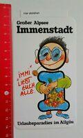 Aufkleber/Sticker: Großer Alpsee Immenstadt - Urlaubsparadies Allgäu (150816196)