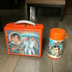 1979-CANADIAN-BUCK-ROGERS-VINTAGE-PLASTIC-LUNCH-BOX-amp-THERMOS-FROM-CANADA-RARE