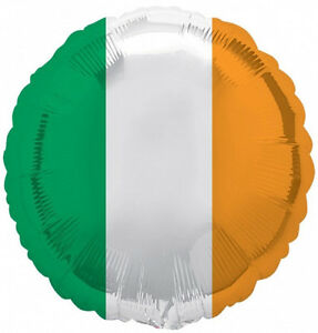 ST-PATRICK-039-S-DAY-PARTY-SUPPLIES-18-034-FLAG-OF-IRELAND-FOIL-IRISH-FLAG-BALLOON