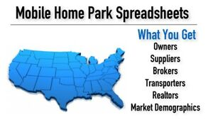 mobile home park investing digital secret spreadsheets ebay