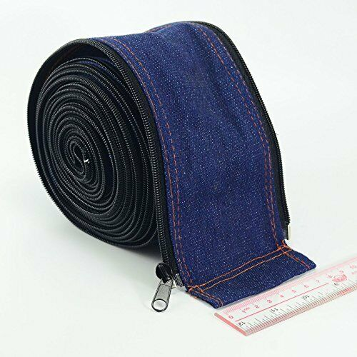TIG Torch Cable Cover Cowboy Zipper Jacket 75 Metre and 25 Foot Length