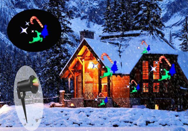Proiettore Luci Natalizie Per Esterno Ebay.Proiettore Luci Di Natale Per Esterno Interno Impermeabile Immagini Di Natale Acquisti Online Su Ebay