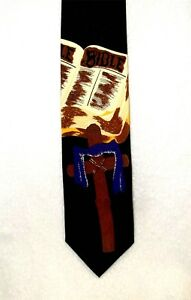 Bible-and-Cross-Multi-Color-Religious-Tie