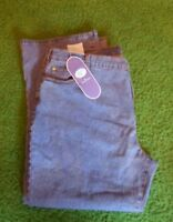Diane Gilman Jeans Size 24wp Med Wash With Tags Inseam 29 Stretch