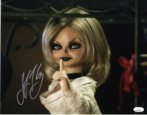 JENNIFER-TILLY-signed-11x14-Photo-Bride-of-Chucky-Tiffany-Doll-Childs-Play-JSA