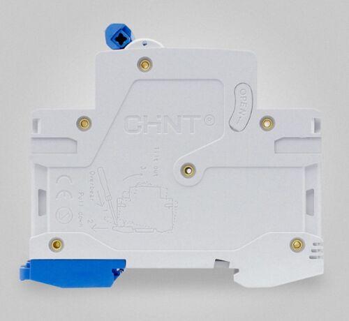 New CHINT AC DC Circuit breaker NB1Z-63 C Type AC400V  DC220V 2 Pole 40Amp