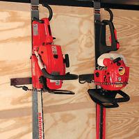Rack'em Hedge Trimmer/chainsaw Rack Enclosed Trailer Ra-3