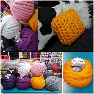Bulky-Arm-Knitting-Wool-Chunky-Wool-Yarn-Super-Soft-gift-Marshmallow-YarnArt