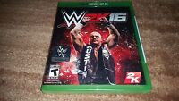 Wwe 2k16 Wrestling 2016 2k Microsoft Xbox One Brand Sealed Xbone