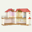 Sylvanian Families WALLPAPER FOR LARGE HOUSE COLOURFUL Fan Club Calico Critters