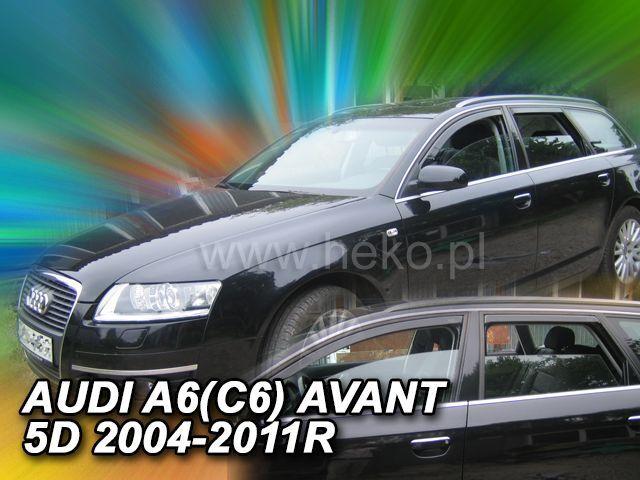 Windabweiser passend für Audi A6 C6 Avant 2004-2011 vorne hinten rechts /& links