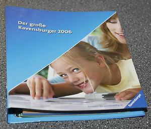 Katalog-Ordner-Der-grosse-Ravensburger-2006-Spielzeugkatalog-Spielzeug-Broschuere