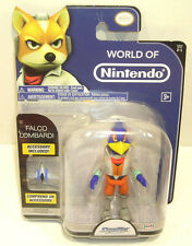 World of Nintendo FALCO LOMBARDI Action Figure SEALED Starfox 2-1 - In Stock -