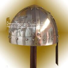 Medieval Viking Norman Nasal Armour Wearable Helmet SCA LARP Replica Helmet