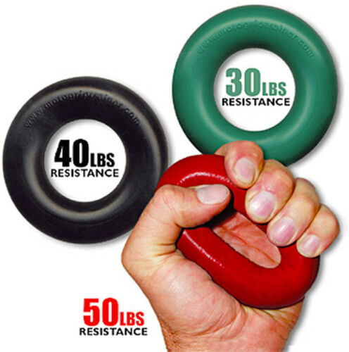 30-50 lb Resistance Grip Pro Trainer 3 Grip Set