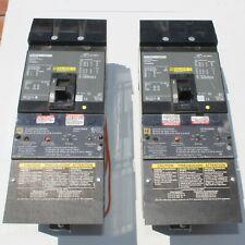 1 New No Box Square D Fh36050g 50a 3 P Breaker With Ground Fault Module Gfm100fa