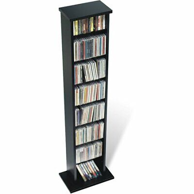 51 Quot Tall Compact Slim Multimedia Cd Dvd Shelf Storage