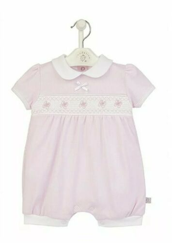 research.unir.net Pink Butterfly Smocked Romper All In One ...