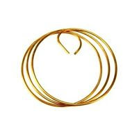 10' Coil Of 6 Solid Copper Wire For Tower Grounding - Rohn Cw6s