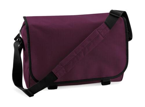 BAGBASE Messenger Bag a tracolla zainetto COLLEGE Borsa Tracolla Borsa Nuovo