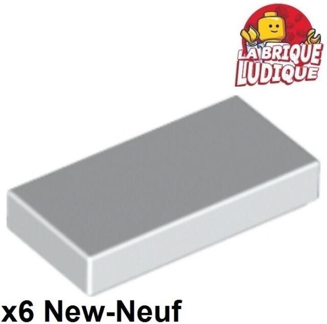 10x LEGO® 3069b 1x2 Fliese weiß white NEU