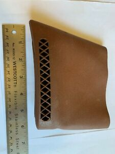 PACHMAYR-SLIP-ON-RECOIL-PAD-RIFLE-SHOTGUN-BUTT-PROTECTOR-BROWN
