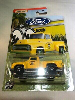 2016 Matchbox /'56 Ford F-100 Pickup Yellow Moon