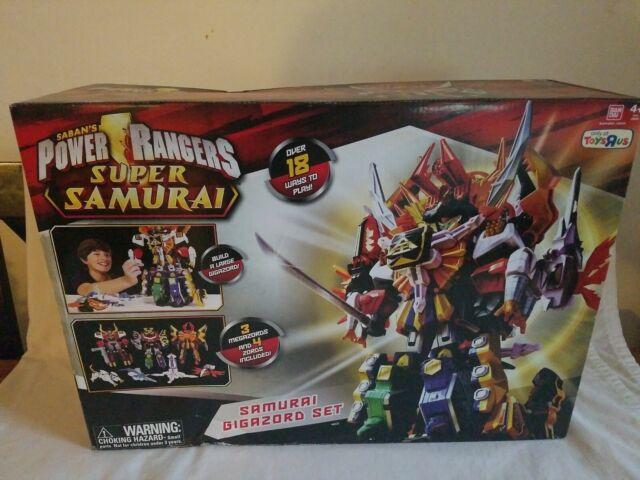 Samurai Power Rangers Megazord Parts Super Samurai
