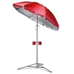 Wondershade Portable Sun Shade, Red