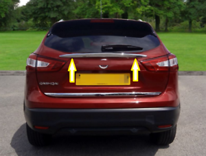 Accessories For Nissan Qashqai 14 2019 Tuning Tailgate Chrome
