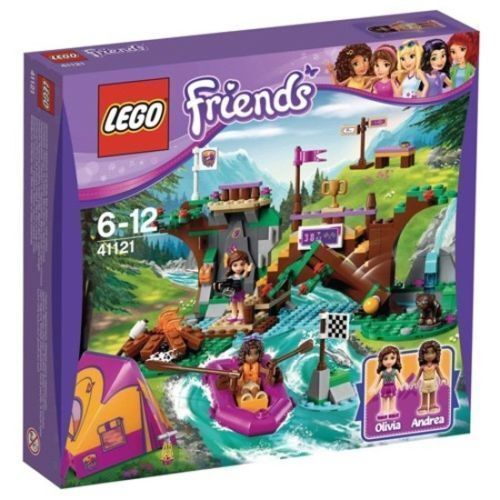 LEGO Friends 41121: Adventure Rafting Mixed UK Camp