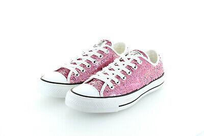 Converse All Star Chuck Taylor Ox Pink Snow Party Glitter Gr. 37,5 38,5   eBay